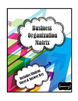 Business Organization Table