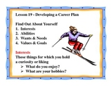 Business Principles - Lesson 19: Developing a Career Plan