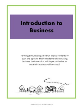 Business Simulation: Learn to run and operate your own business!