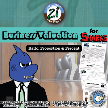 Business Valuation for Sharks -- Shark Tank Inspired Finan