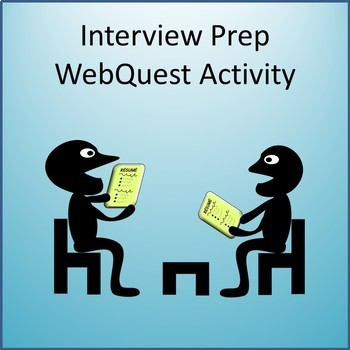 Business and Career Skills - Interview Prep Tips Activity
