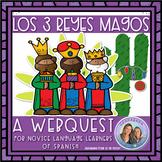 (No Prep) Búsqueda/Webquest de los Reyes Magos