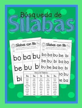 Búsqueda de Sílabas-A Spanish Syllables Auditory Activity