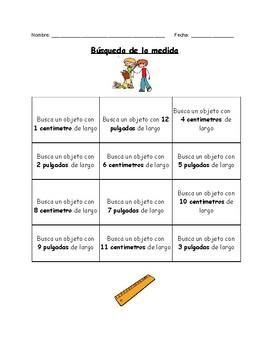 Búsqueda de las Medidas / Search for the Measurement