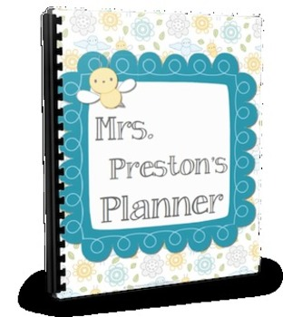 Busy Bee Mini Teacher Planner Set
