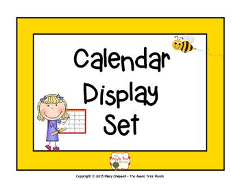 Calendar Set - Busy Bee Theme
