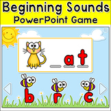Beginning Sounds Game - CVC Words Phonics Game for Smartbo