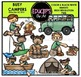 Busy Campers Clip Art Bundle {Educlips Clipart}