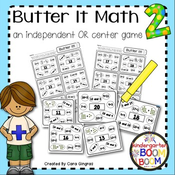 Addition - Butter It Math 2