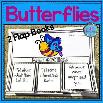 Butterflies Writing Flap Books!