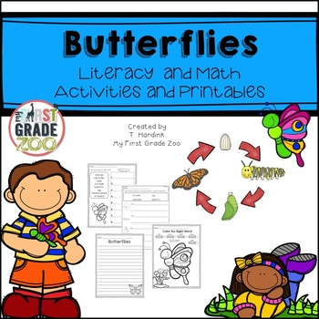 Butterflies - Science and Literacy Based Activities
