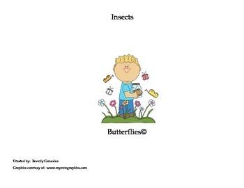 Butterflies (A Short Passage and Comprehension Activities)