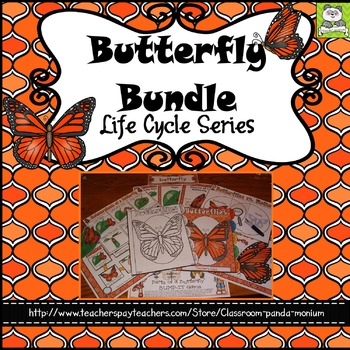 Butterfly Life Cycle Bundle