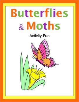 Butterflies and Moths Activity Fun