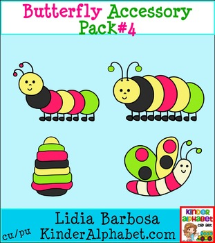 Butterfly Accessory Pack #4