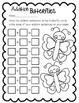 Butterfly Addition--Math Center for K-1 (Addition to 15)