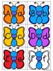 Butterfly Alphabet Matching - Upper case and Lower case Ma