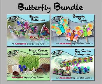 Butterfly Bundle - Animated Step-by-Steps