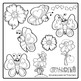 Butterfly Clip Art - Bright