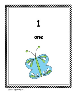 Butterfly Counting Poster
