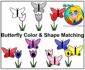 Preschool Butterfly File Folder Activities