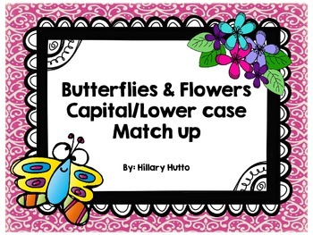 Butterfly & Flower ABC Workstation