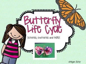 Butterfly Life Cycle- Activities,craftivities, and more!