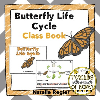 Butterfly Life Cycle Class Book