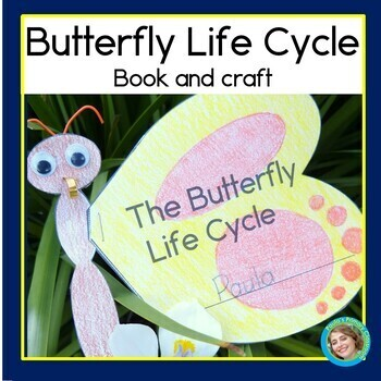 Butterfly Life Cycle Craft and Book