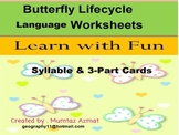 Butterfly Life Cycle Language Worksheets :