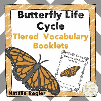 Butterfly Life Cycle Tiered Vocabulary Booklets