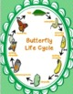 """Sequencing with Butterfly Life Cycle """"War"""" Card Game Scien"""