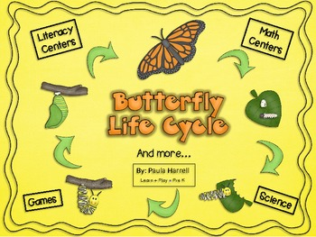 Butterfly Life Cycle and more!