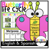 Butterfly Life Cycle (Craft and Printables in English and