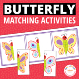 Butterfly Matching Boards:  Preschool Butterfly Activity