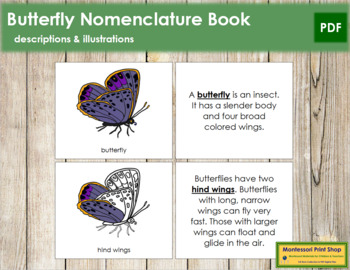 Butterfly Nomenclature Book