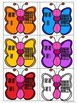Butterfly Number Match - Numerals, Number Words, Tally Mar