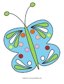 Butterfly Pom Pom Activity