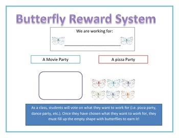Reward System-Butterflies