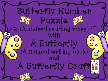 """Butterfly Shared Reading - """"Butterfly Number Puzzle"""""""