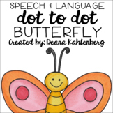 Butterfly {Speech & Language Dot Art}