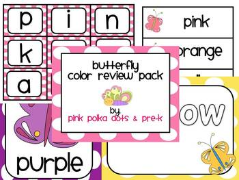 Butterfly Theme Color Review Pack