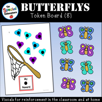 Butterfly Token Board (8)
