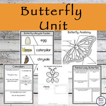 Butterfly Unit for Grades 1,2,3