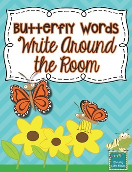 Butterfly Words Write Around the Room