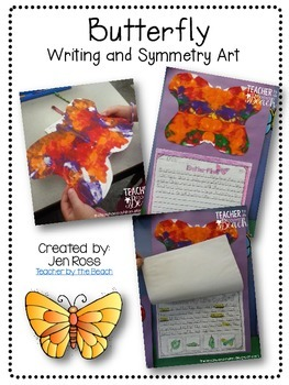 Butterfly Writing and Symmetry