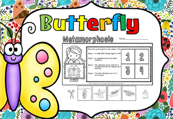 Butterfly life cycle(FREE- FEEDBACK CHALLENGE)