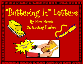 Buttering in Letters