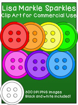 Buttons Clip Art for Commercial Use