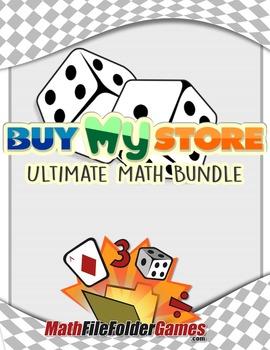 Buy My Store - Math Mega Bundle {Individual License}